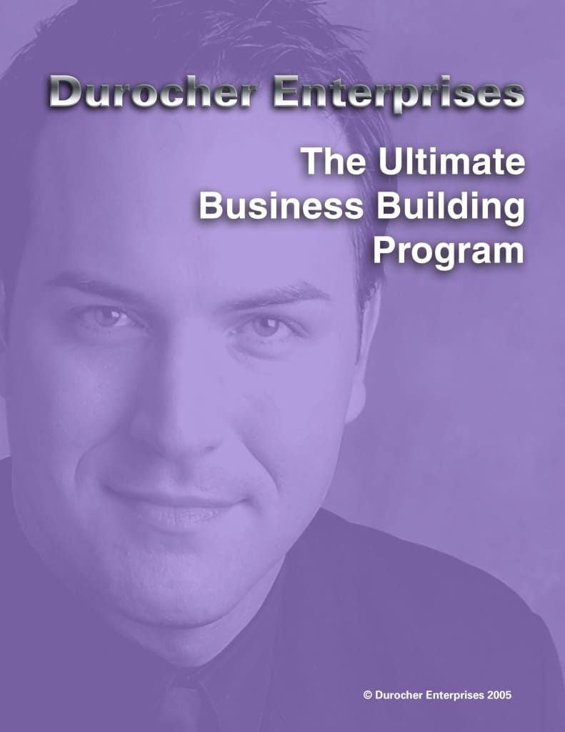 The Ultimate Business Building Program